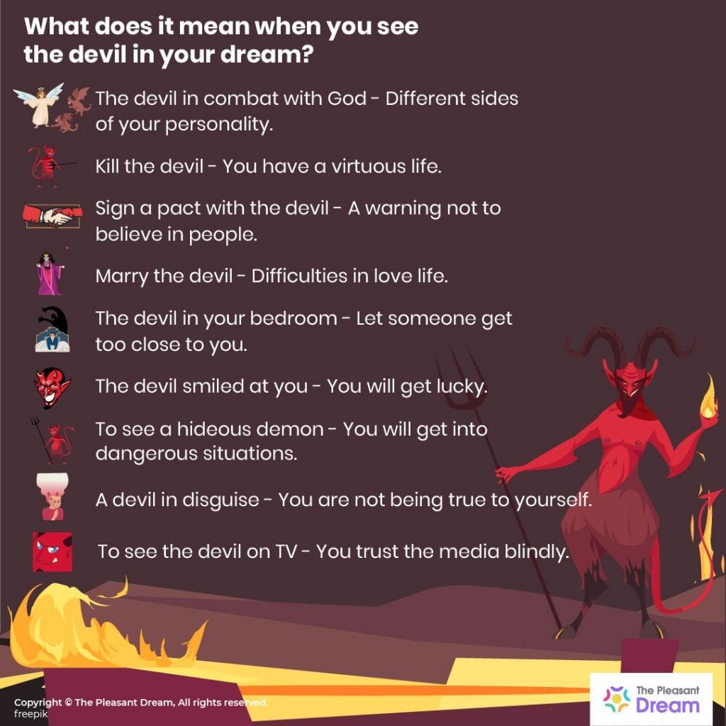 Demon Dream Meaning 60+ Common Scenarios
