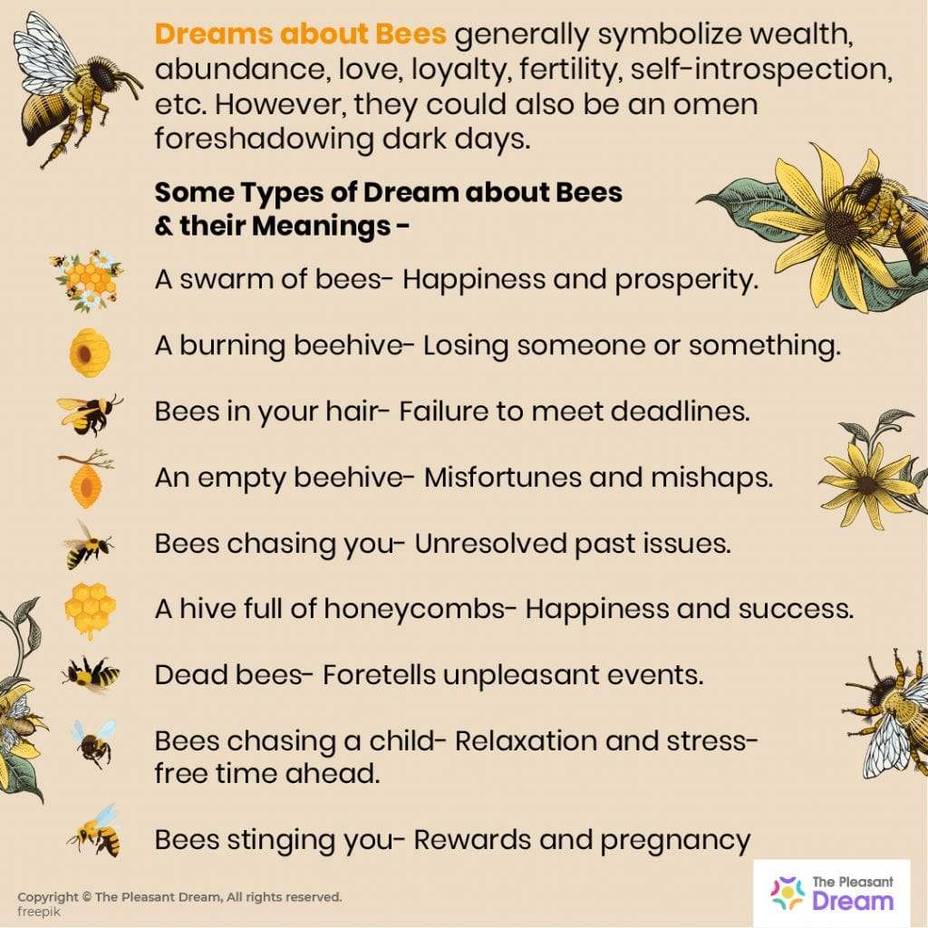 Dreaming of Bees  80+ Dream Narratives & Their Meanings