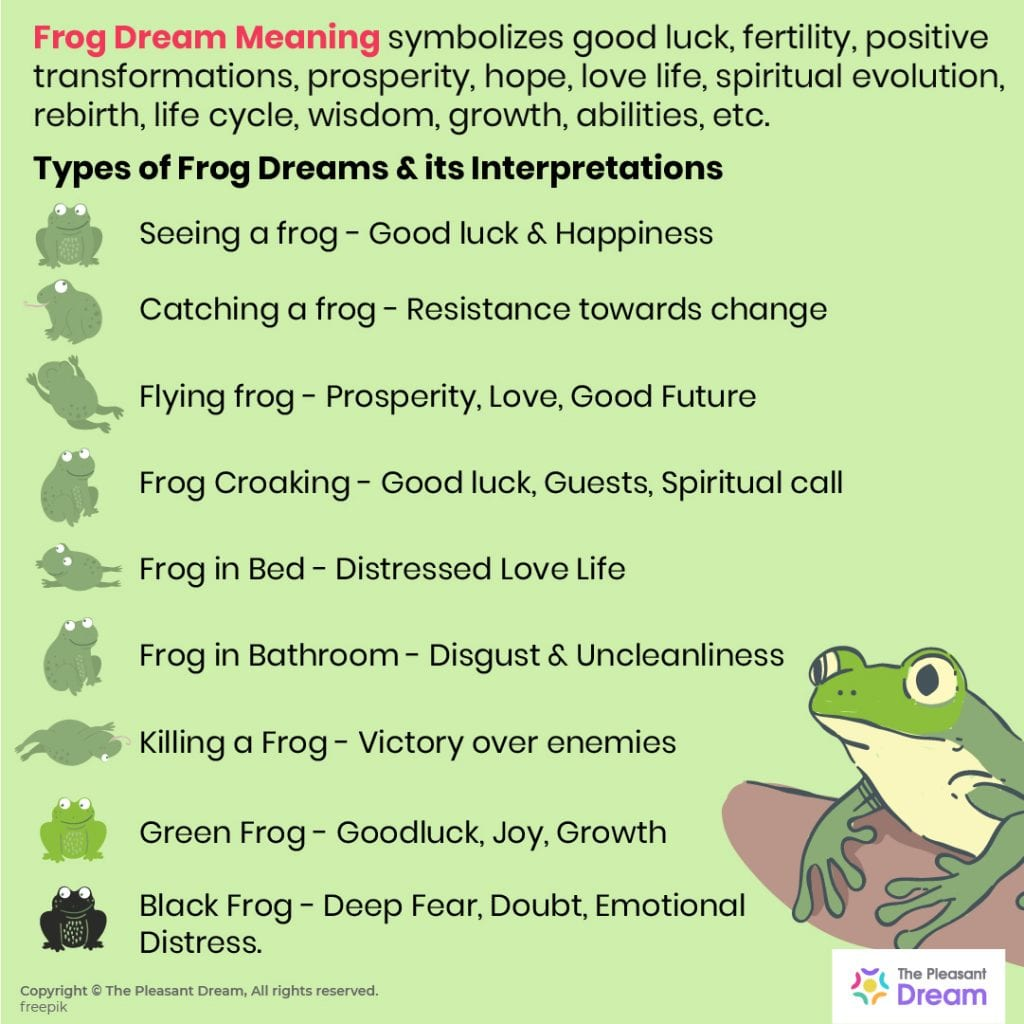 Frog Dream Meaning - A Complete Guide