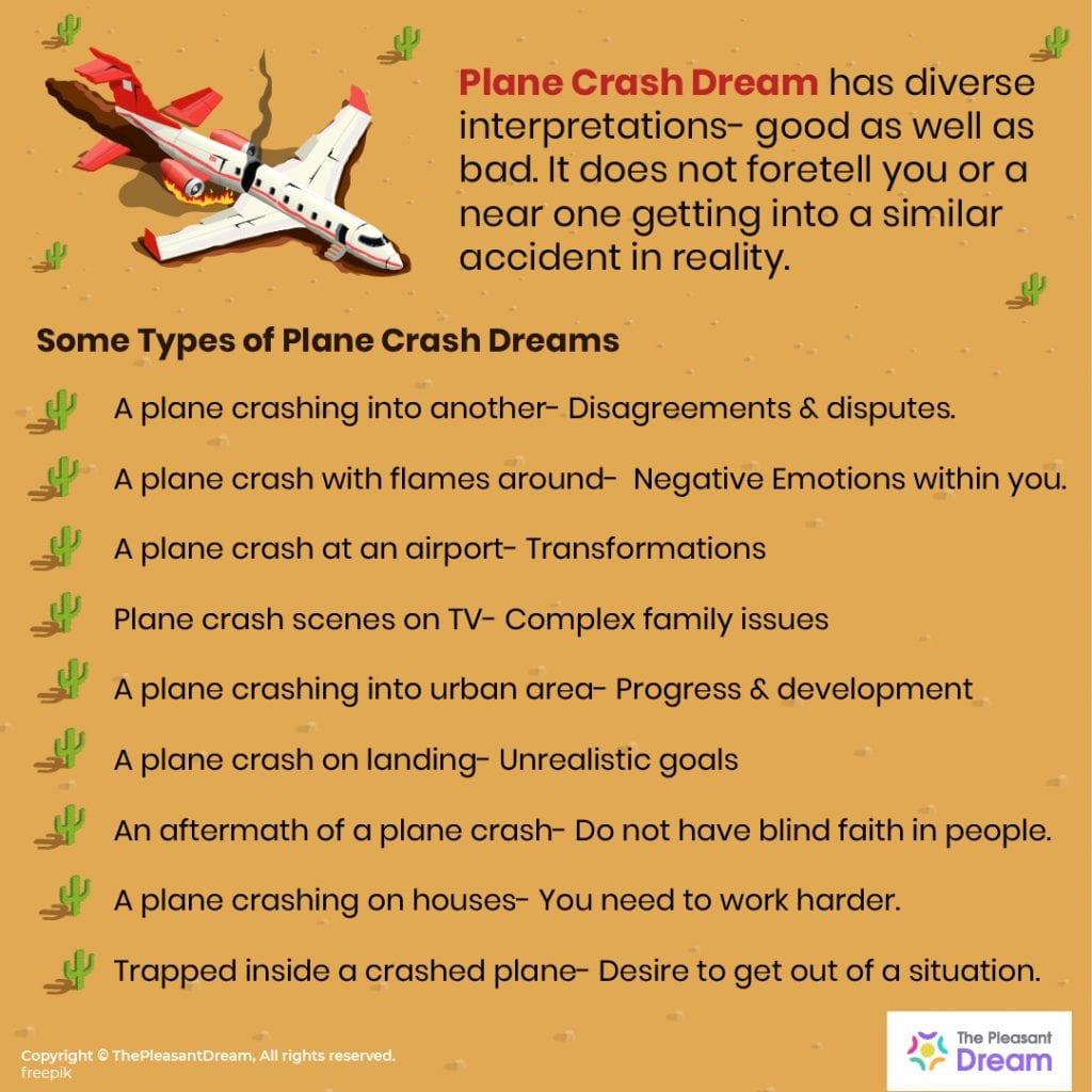 Plane Crash Dream: 48 Dream Scenarios & their Meanings
