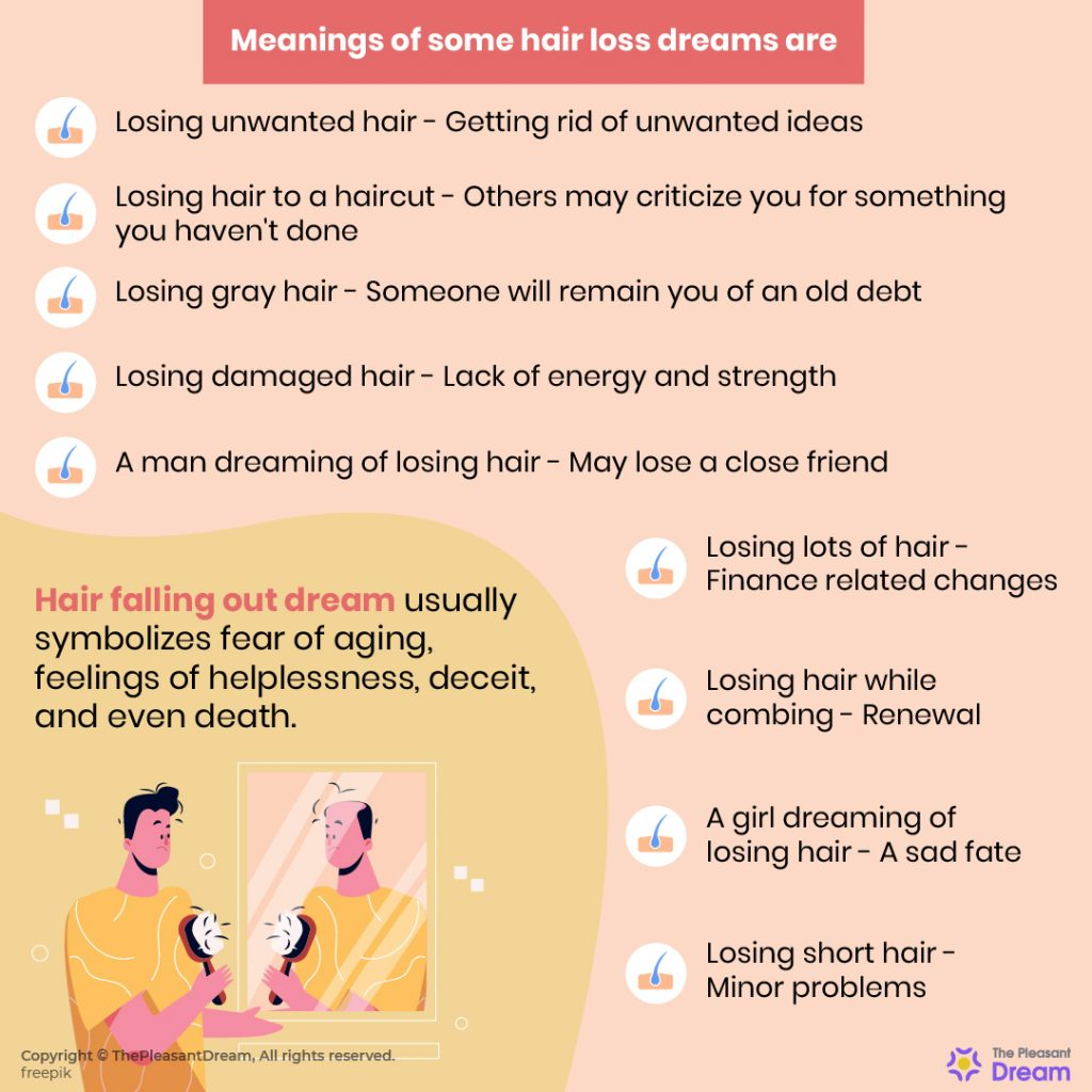 Hair Falling Out Dream - 36 Different Scenarios & Its Meanings