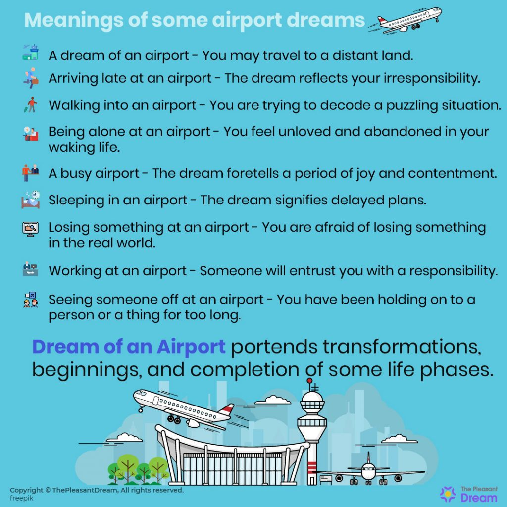 Dream of Airport - 60 Dream Plots & Their Meanings