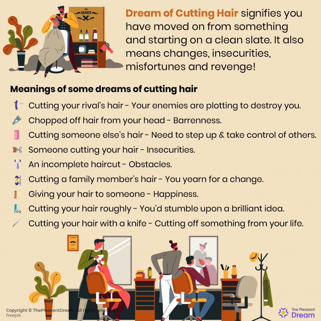 Dream of Cutting Hair - 47 Scenarios & Its Meanings