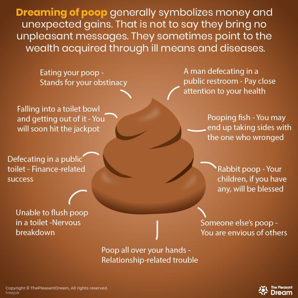 Dreaming of Poop - 117 Types of Dream & Their Interpretations