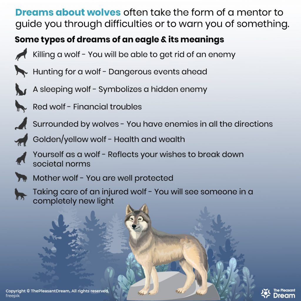 Dreams About Wolves - 129 Different Dream Scenarios & Its Meanings