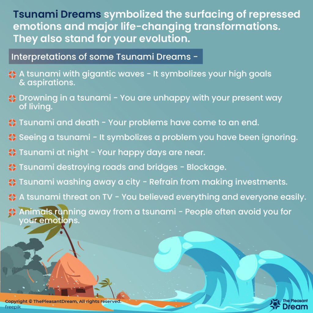 Tsunami Dream - 37 Dream Plots And Their Meanings
