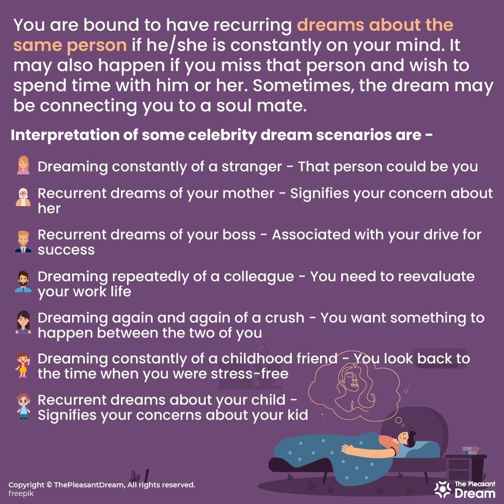 Why Do I Keep Dreaming About The Same Person - Know 23 Reasons